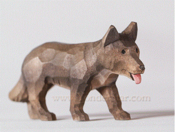 Swiss carved dog