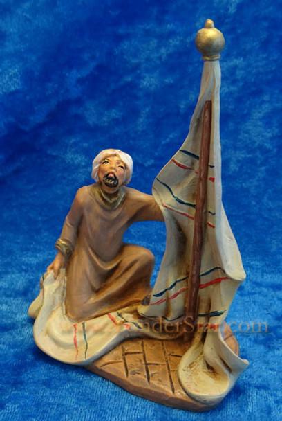 """Aquila - 3.5"""" Fontanini Nativity Tent Maker 55045"""