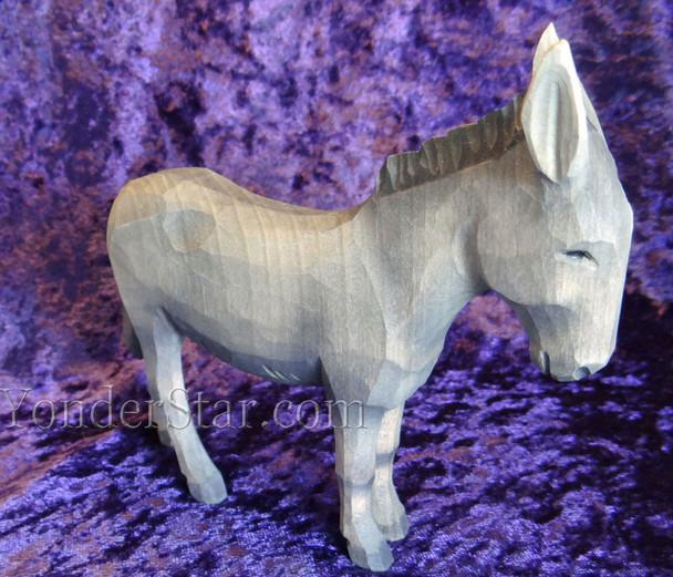 Swiss wood donkey