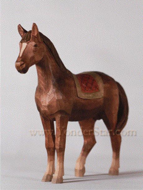Swiss wodd carved horse
