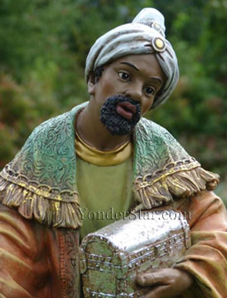 African Wiseman Balthasar for Outdoor Nativity