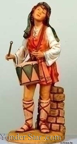 "Jareth - 27"" Fontanini Nativity Drummer Boy 53101"