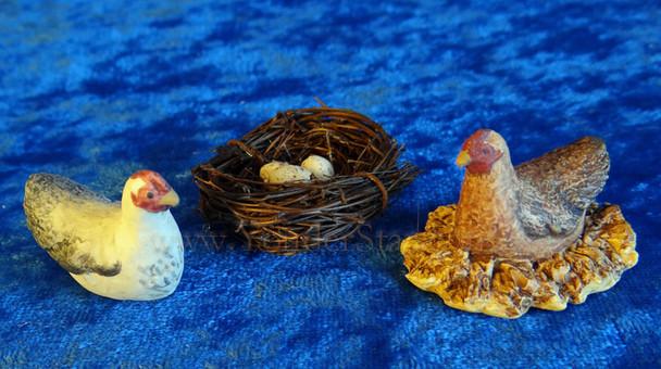 Chickens - Hestia Companions Nativity Animals