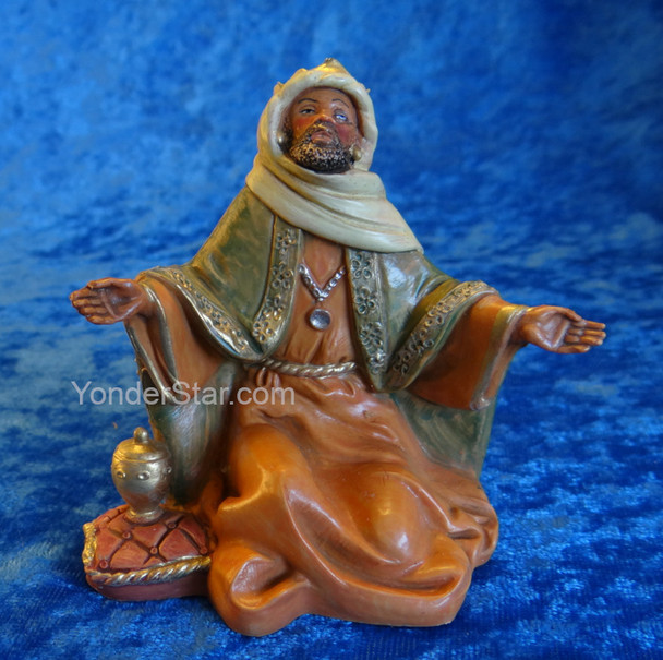 "Balthazar King - 5"" Fontanini Nativity Wiseman 72189"