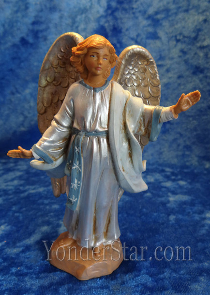"Angel at the Resurrection - 5"" Fontanini Nativity Life of Christ Angel - 53514"
