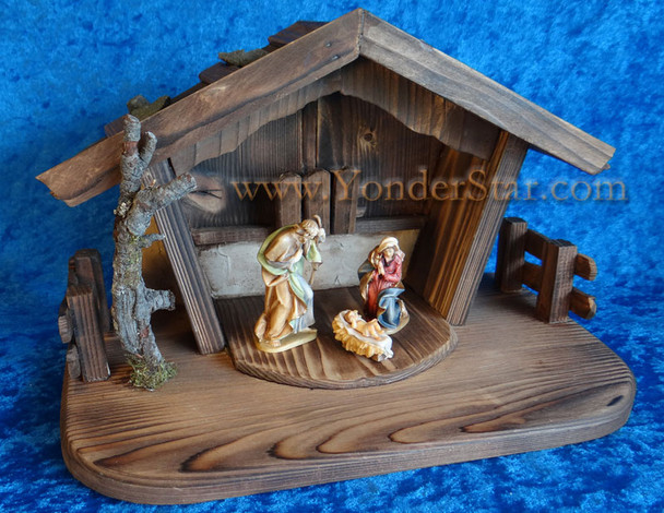 Rupert Reindl nativity set