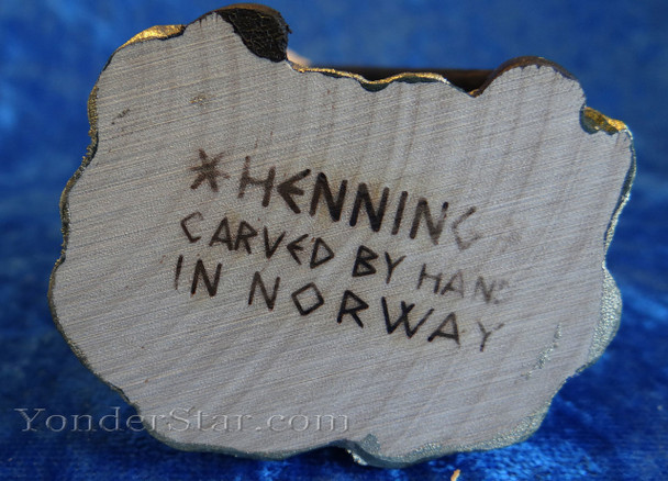 Henning hand-carved nativity