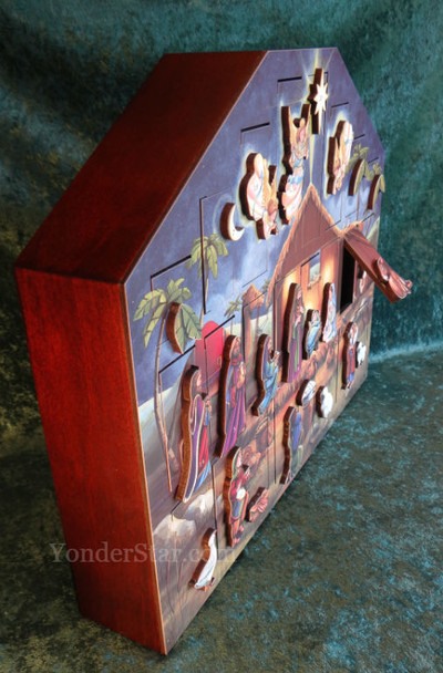 Musical Nativity Advent Calendar