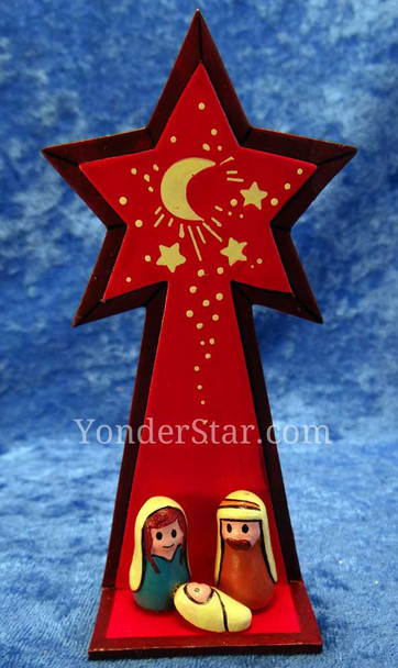 Fair trade nativity star