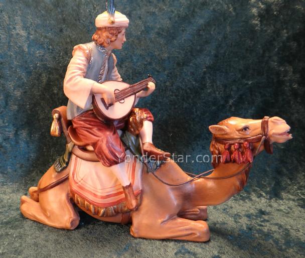 LEPI Venetian Nativity Page w Lute on Camel