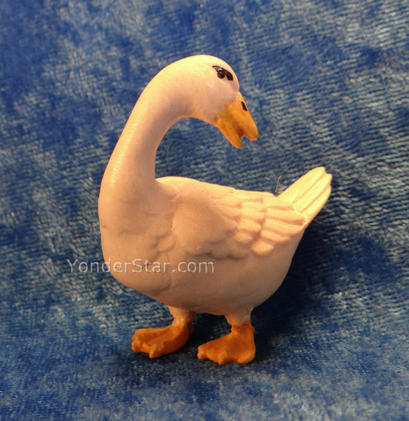 LEPI Venetian Nativity Goose Looking Back - 16cm