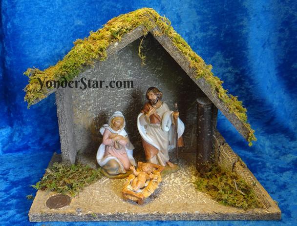 Small Fontanini nativity set