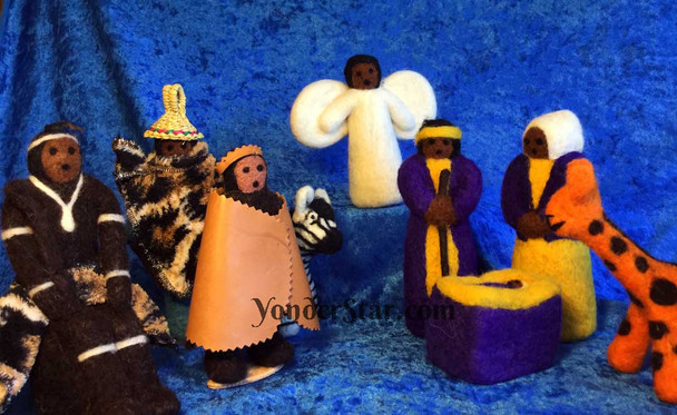 Lesotho Nativity Set