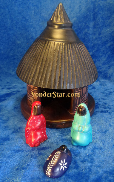 Kenyan nativity set