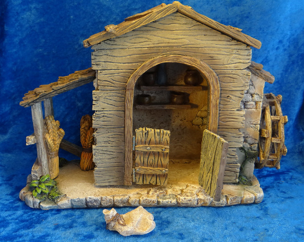 Lighted Farmhouse Fontanini Nativity