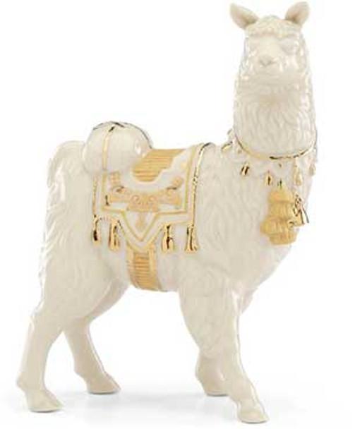 Lenox nativity llama First Blessing