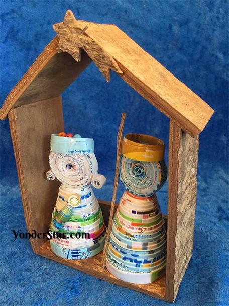 Vietnamese nativity set