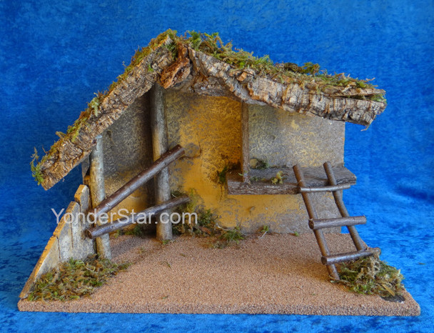 """7.5"""" Scale Fontanini Empty Stable 50869"""