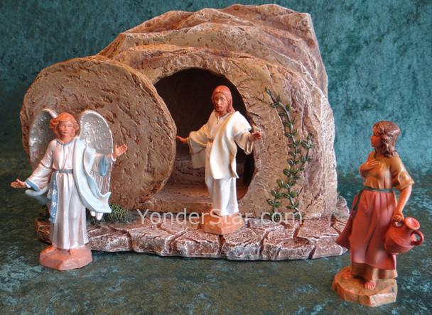 "Fontanini 5"" Scale Life of Christ Resurrection Scene s50627"