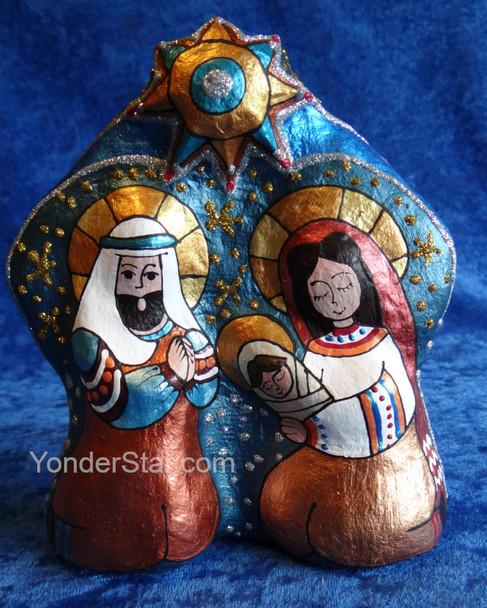 Nativity Scene from Ukraine