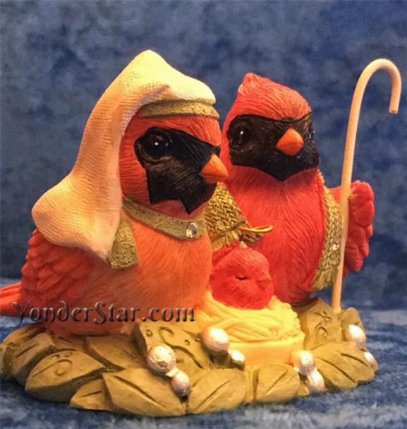 Cardinal Nativity Set