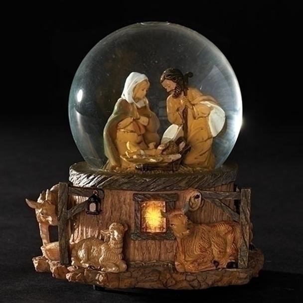 """Fontanini Glitterdome 5.75"""" Nativity Scene - 66129 - Pre-order"""