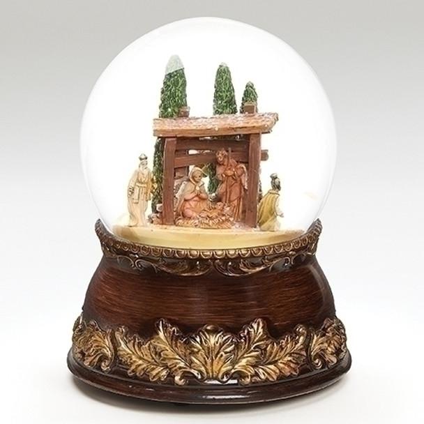 """Fontanini Glitterdome 6.75"""" Nativity Scene - 59016 - Pre-order"""