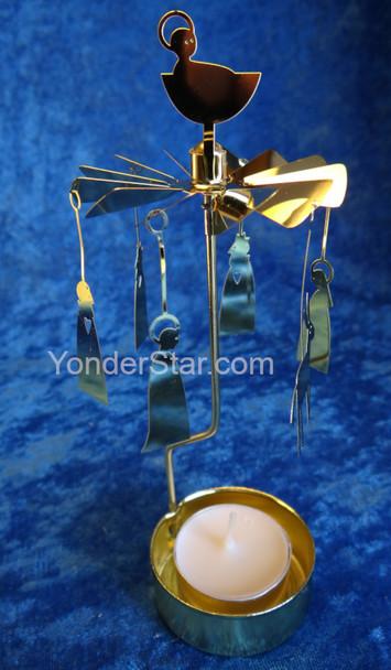 Swedish Nativity Candle Spinner