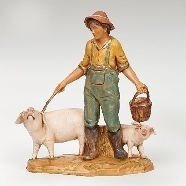 Fontanini Jedediah pig farmer
