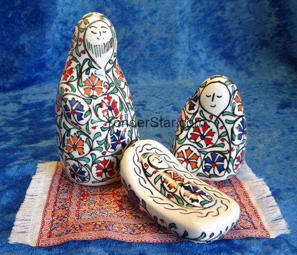 Fritware nativity from Turkey