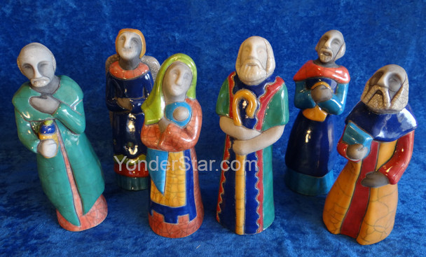 South African nativity set