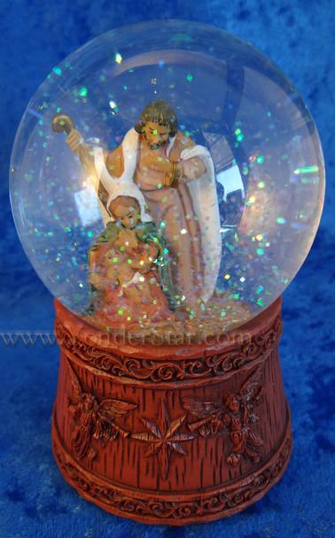 Musical Fontanini Nativity Glitterdome 59085