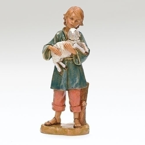Silas Fontanini nativity shepherd boy