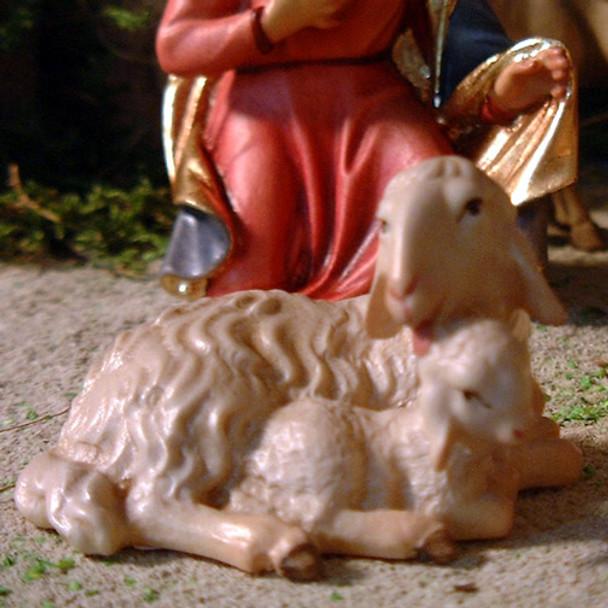 Sheep with Lamb LEPI Nazarene Wooden Nativity