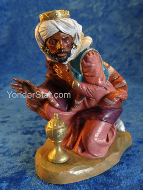 "Balthazar - 7.5"" Fontanini Nativity Wiseman 72816"