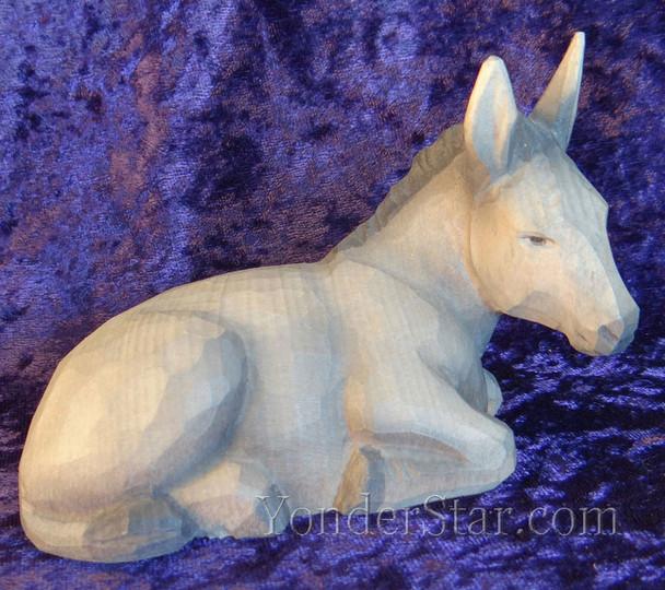 huggler nativity seated donkey