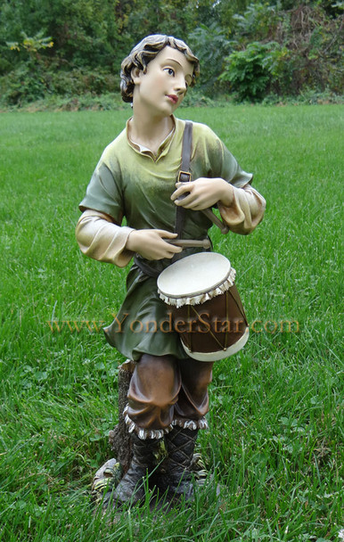Drummer Boy Outdoor Nativity Joseph's Studio