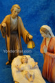 Holy Family Mary Kneeling LEPI Venetian Nativity