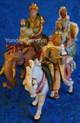 """Wisemen on Animals - 5"""" Fontanini Kings 65244"""