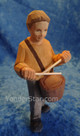 Drummer Boy - Huggler Nativity Woodcarving