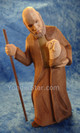 Old Shepherd with Lamb - Huggler Nativity Woodcarving