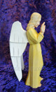 nativity wood carved angel