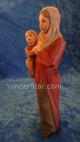 Swiss nativity woman & child