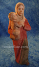 Huggler Swiss nativity woman