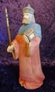 Wood carved nativity Switzerland