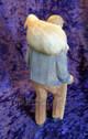 Huggler carved shepherd