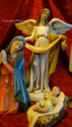 "12"" Nativity Scene by Joseph's Studio"