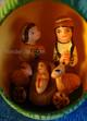 Nativity Scene Inside An Egg - Fair Trade Peru