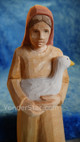 Nativity figure from Switzerland