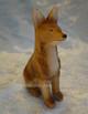 Huggler carved dog
